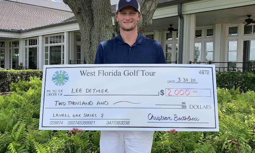 Canadian Tour Member DETMER Wins 1st Career WFGT Start!